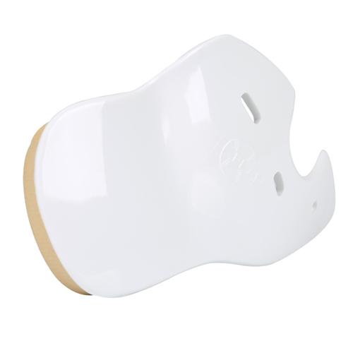 [KN] C-FLAP 헬멧부착 안면보호대(화이트/우타자용-좌귀부착 RHB)