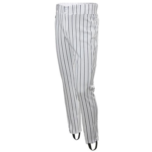 [DESCENTE]기성 유니폼 하의 곤줄지 (흰색/곤색) [사이즈: 40-1개] *교환,반품 불가상품*