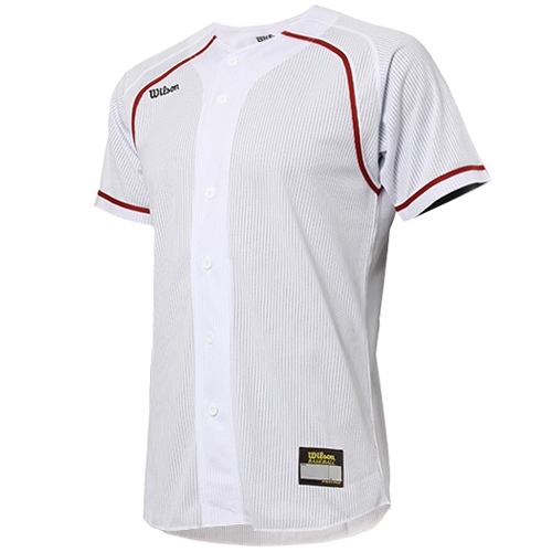 [WILSON]WTA11035WHRE WS TEAM JR21 기성 유니폼 상의 (빨강/흰색)