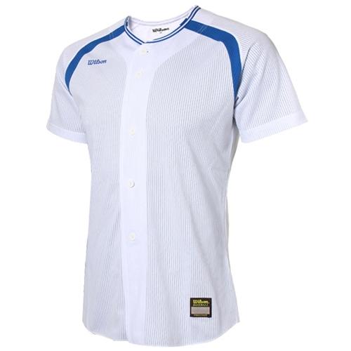 [WILSON]WTA11027WHRB WS TEAM JR13 기성 유니폼 상의 (흰색/파랑)