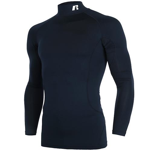 [RUSSELL]RL171MBAIL002 하프넥 긴팔 언더셔츠(네이비)