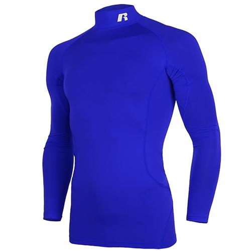 [RUSSELL]RL171MBAIL003 하프넥 긴팔 언더셔츠(블루)