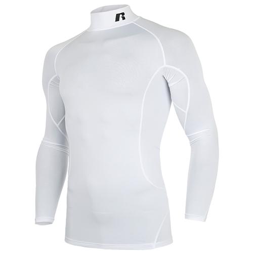 [RUSSELL]RL171MBAIL005 하프넥 긴팔 언더셔츠(화이트)