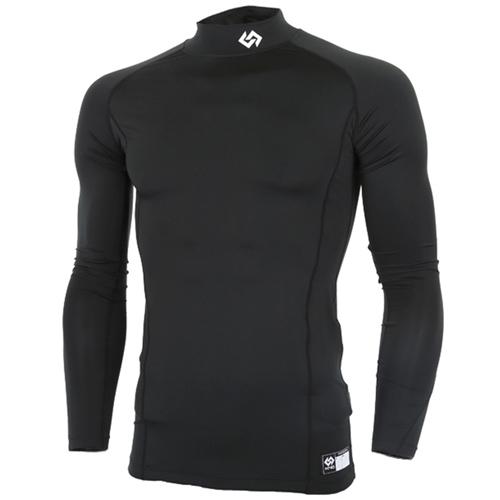 [KNB]스판언더셔츠 (BLACK)