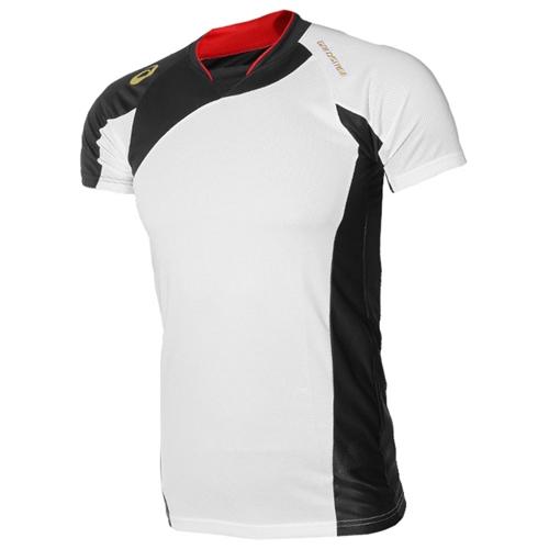 [ASICS]BAD101 0190 BLADE SHIRT 반팔셔츠 (흰색/검정)