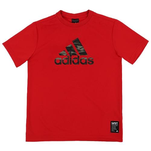 [ADIDAS]BR5646 KIDS BIG LOGO T 키즈 빅 로고 티셔츠(레드)