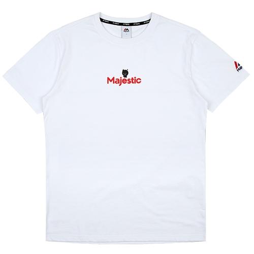 [MAJESTIC]ML172UBATS103 야구친구 콜라보 위도리 반팔 티셔츠(화이트)