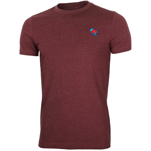[MAJESTIC]ML162MBATS507 햇츠 그래픽 반팔 티셔츠(버건디)