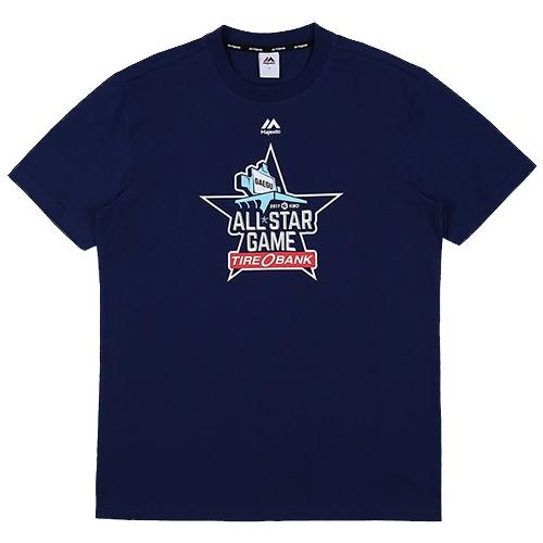 [MAJESTIC]ML172UBATS130 2017년 KBO 올스타 기념 티셔츠 (블루)