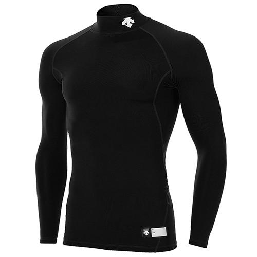 [DESCENTE]S5321ZPC02 BLK0 긴팔 언더셔츠(블랙)