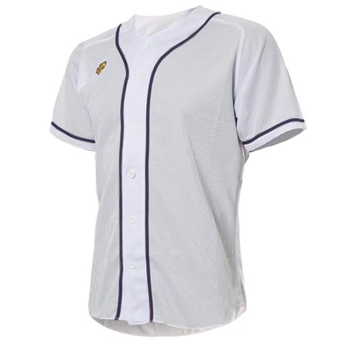 [DESCENTE]S212WLKT09 기성 유니폼 상의 (흰색/곤색)