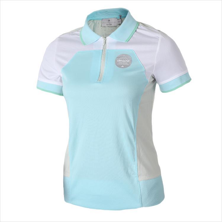 [ADIDAS] S09702 폴로셔츠 (흰색) 여성용