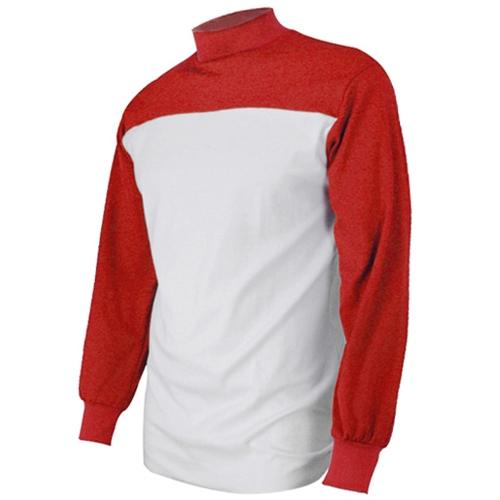 [KNB]목언더셔츠 (빨강/흰색)
