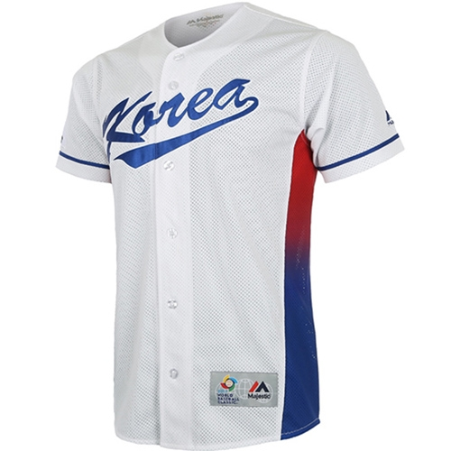 [MAJESTIC]2017 WBC REPLICA JERSEY HOME(화이트)