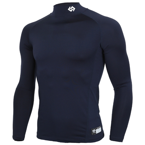 [KNB]KSU-5 스판언더셔츠(곤색) (2사이즈작음) (유소년용) 곤색