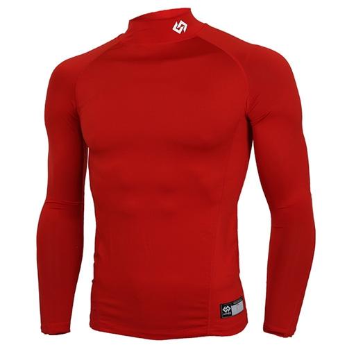 [KNB]KSU-5 스판언더셔츠(적색) (2사이즈작음) (유소년용) 빨강