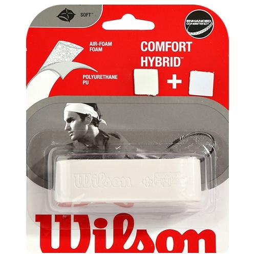 [WILSON]WRZ486200 컴포트 하이브리드 그립 (흰색)
