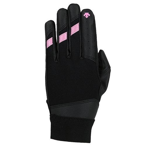 [DESCENTE]S7124WGL05 BKPK 베이직 수비장갑(블랙/핑크)