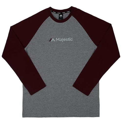 [MAJESTIC]ML173MCATS002 면 라글란 티셔츠(자주)