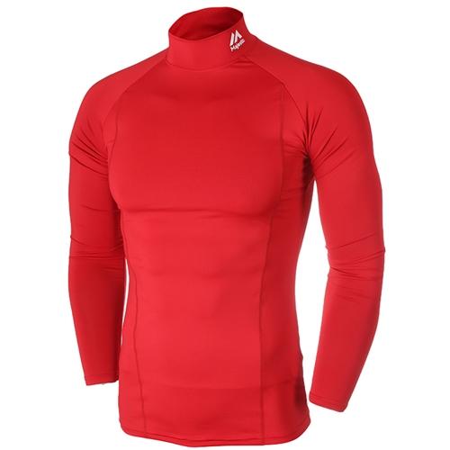 [MAJESTIC]ML153MBAIL217(빨강)어센틱 절개 라운드 언더셔츠