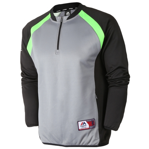 [MAJESTIC]ML153MBAZT202(회색)라글란 포인트 짚업 셔츠
