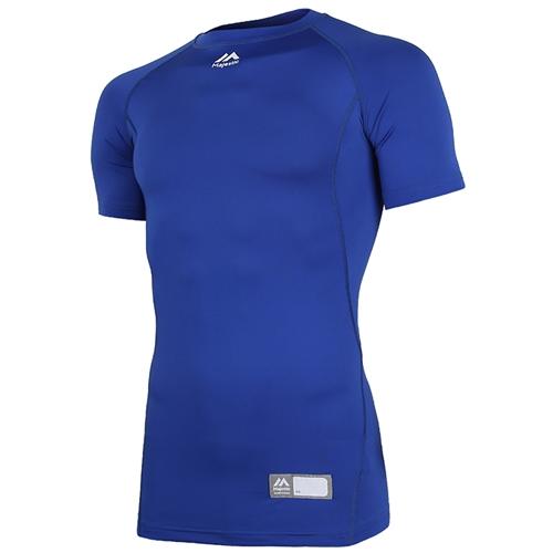 [MAJESTIC]ML172MBAIS009  어센틱 반팔 라운드넥 언더셔츠(블루)