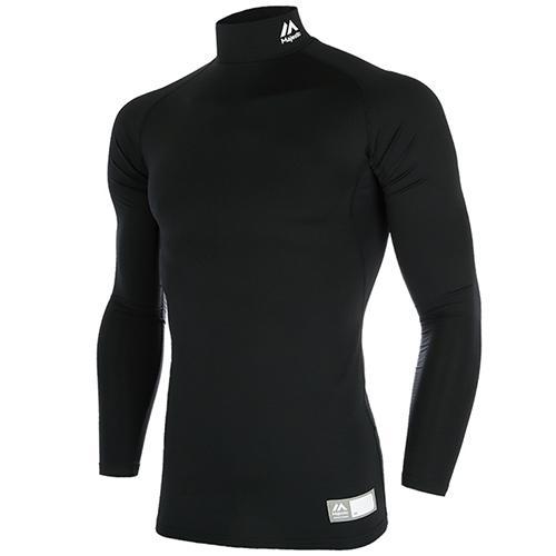 [MAJESTIC]기모언더셔츠 (BLACK)