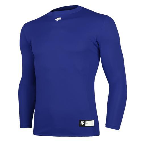 [DESCENTE]S8111WCO02 ROY0 라운드 언더셔츠 블루(DOR-G8995R)