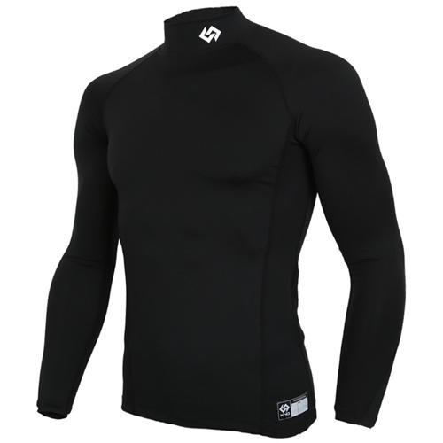 [KNB]KSU-5 스판언더셔츠(검정) (2사이즈작음) (유소년용) 검정