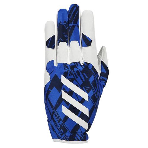 [ADIDAS]CX2057 5T FIELDING 장갑 왼손 착용(블루/화이트)
