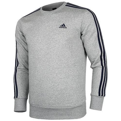 [ADIDAS] BQ9642 ESS 3S CREW B 에센셜 3S 크루 B 티셔츠(그레이)