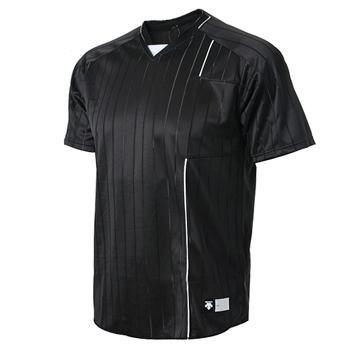 [DESCENTE]S211WWTS32 BLK0 하계셔츠 (검정)