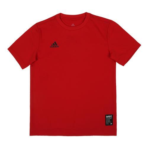 [ADIDAS]CX2240 KIDS 5T LOGO T 키즈 로고 티셔츠 (레드)