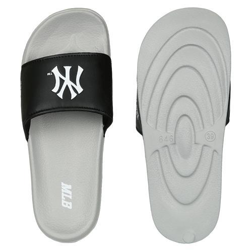 [MLB]뉴욕 양키스 베이직 슬리퍼 (블랙)