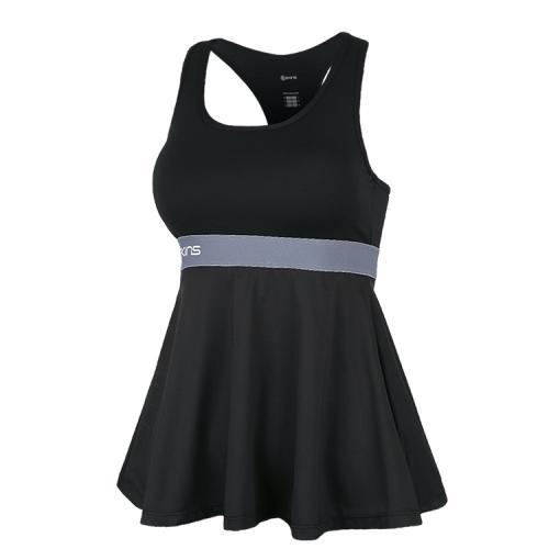 [SKINS]SL182WRABT005 여성 모노 블록 브라탑 (블랙)
