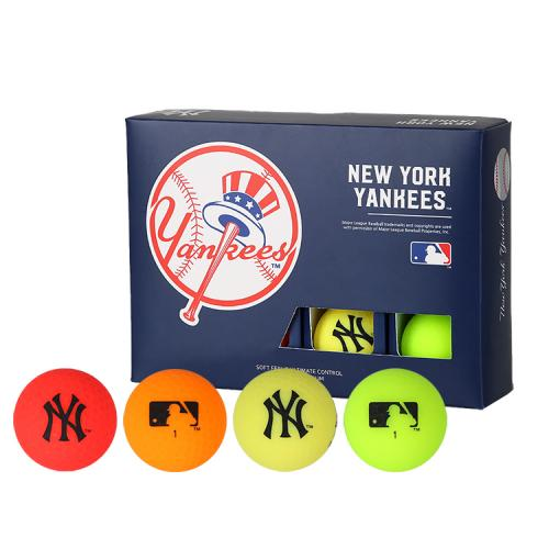 [MLB]New York Yankees 3-Layer Color Golf Ball(12구) 멀티컬러