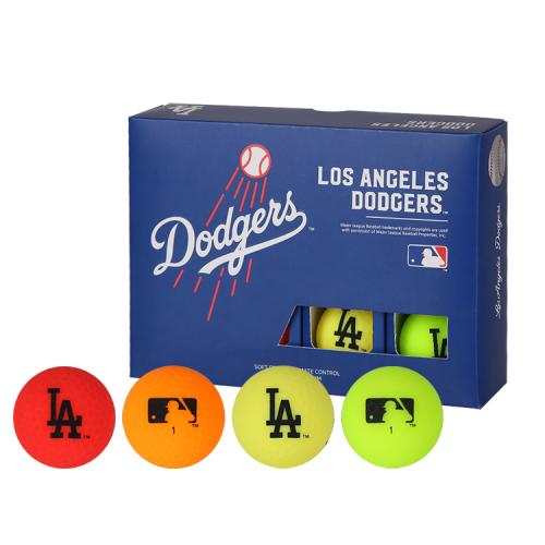 [MLB]LA Dodgers 3-Layer Color Golf Ball(12구) 멀티컬러