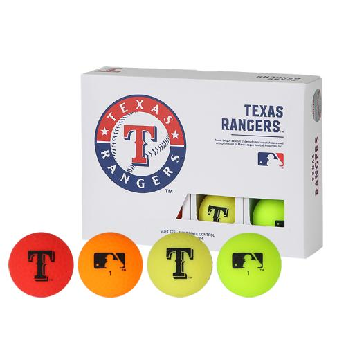 [MLB]Texas Rangers 2-Layer Color Golf Ball(12구) 멀티컬러
