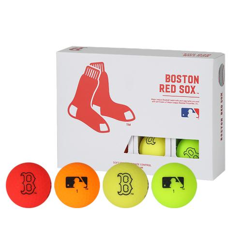 [MLB]Boston Red Sox 2-Layer Color Golf Ball(12구) 멀티컬러