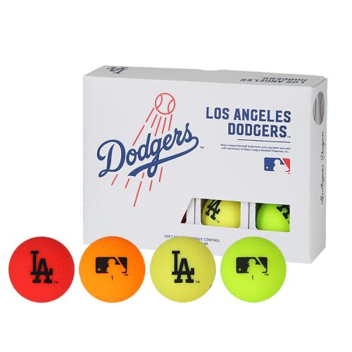 [MLB]LA Dodgers 2-Layer Color Golf Ball(12구) 멀티컬러