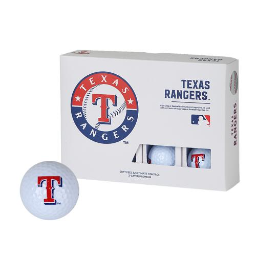 [MLB]Texas Rangers 2-Layer Golf Ball(12구) 흰색