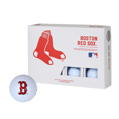 [MLB]Boston Red Sox 2-Layer Golf Ball(12구) 흰색