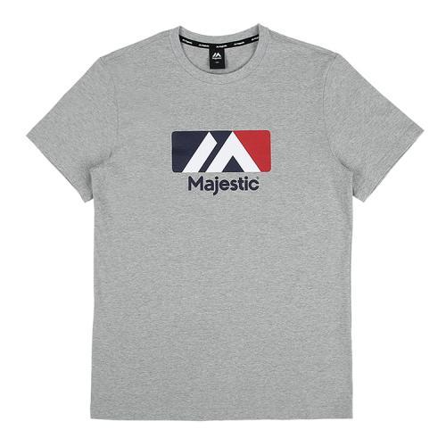[MAJESTIC]ML182UCATS005 유니 베이직 빅로고 티셔츠 (그레이)